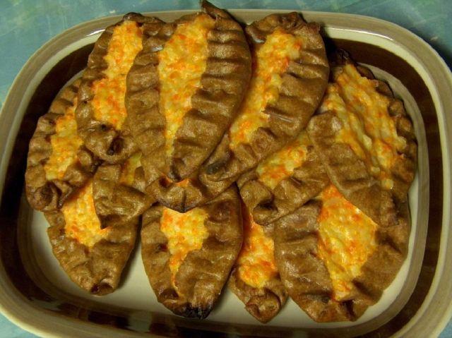 Porkkana-riisipiirakat