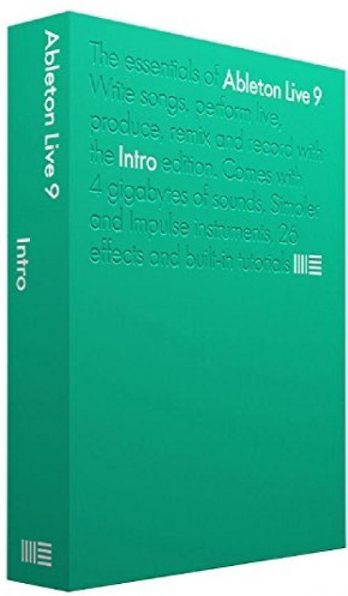 Ableton Live 9 Intro Ableton Live 9 Intro DJ and Mixing Software with Sound Libr #ABELTON