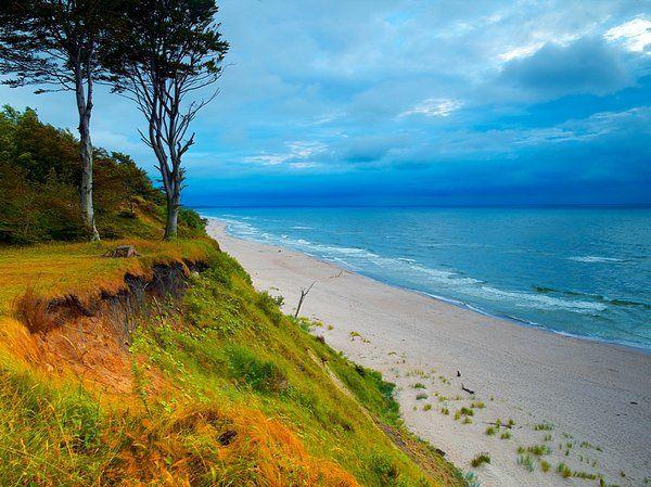 Pretty! Polska, morze Baltyckie. Baltic Sea. Poland