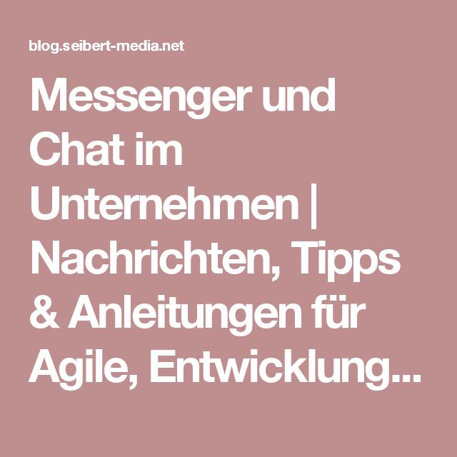 Messenger und Chat im Unternehmen   Nachrichten, Tipps & Anleitungen für Agile, Entwicklung, Atlassian Software (JIRA, Confluence, Stash, ...) und //SEIBERT/MEDIA