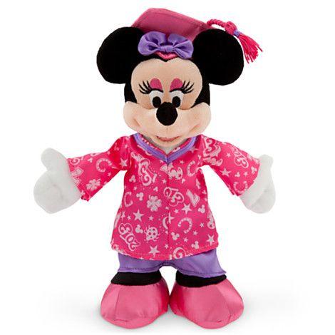 "Disney Store Minnie Mouse Red Polka Dot Plush Mini 9/"" Toy Doll Girls Gift ~ NEW"