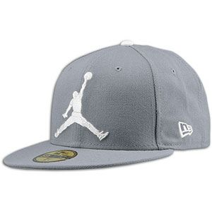 Jordan New Era 59Fifty Jumbo Jumpman Fitted Cap - Men s  4c4e26d7222