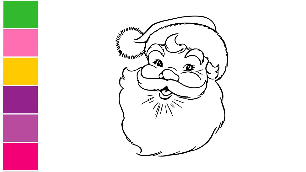 How To Draw Santa Claus Face Easy Santa Claus Drawing Christmas Special Drawing For Kids Santa Claus Drawing How To Draw Santa Santa Claus Drawing Easy