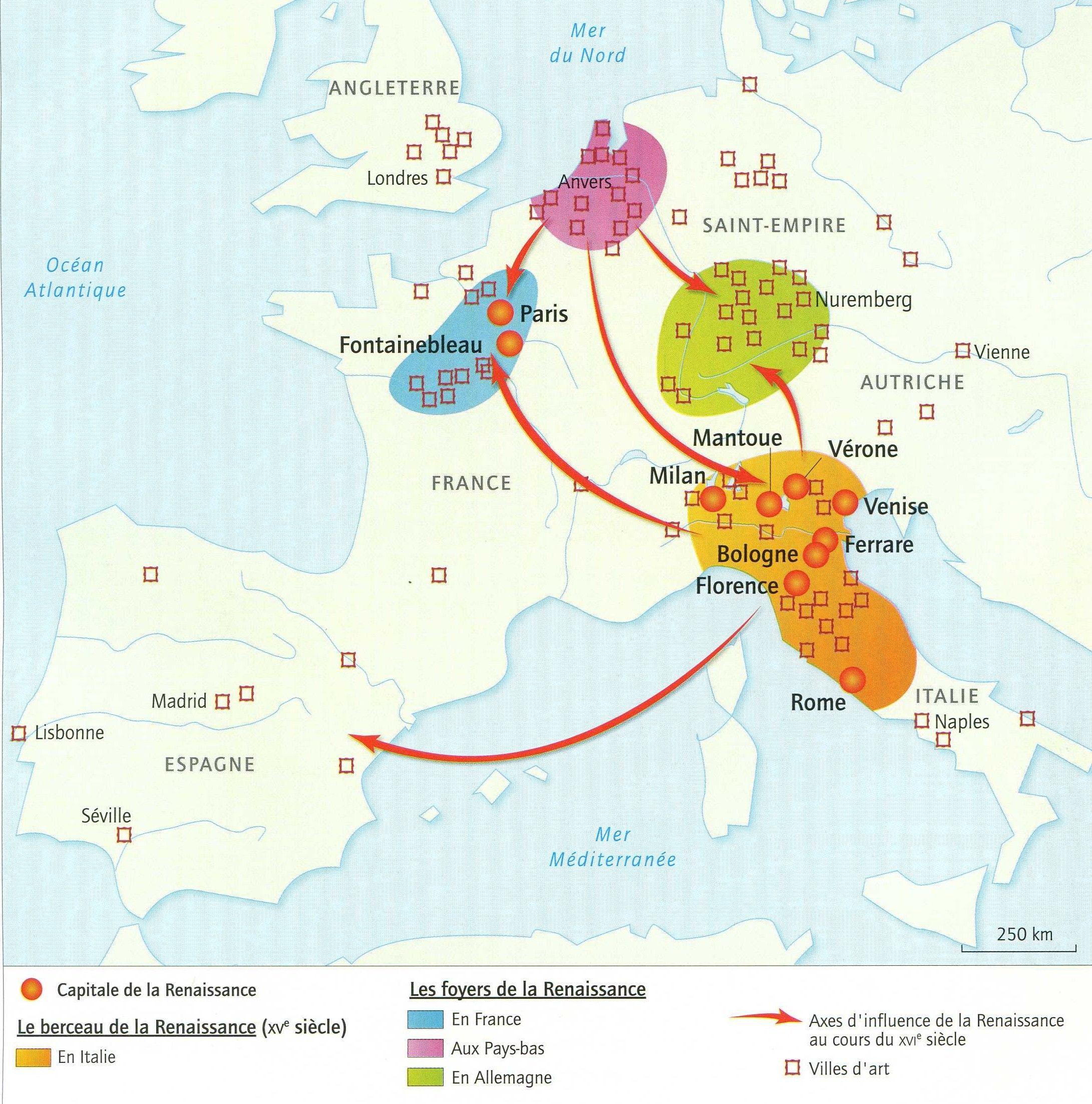 carte europe humanisme