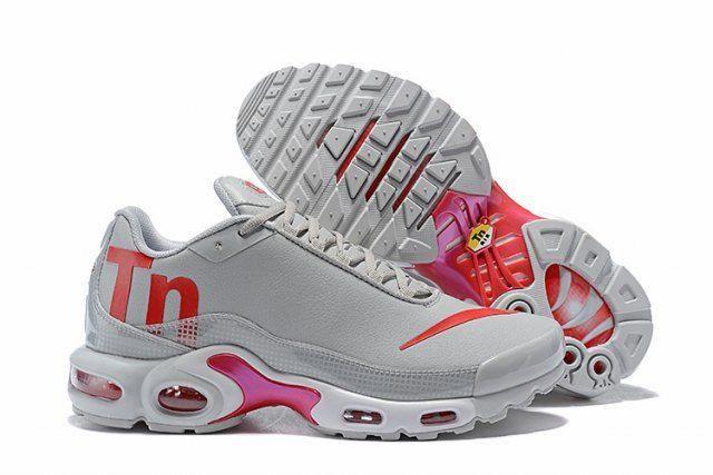 7b9104123b1 Nike Mercurial Air Max Plus Tn Men s Sneakers Trainers Shoes Grey Orange   Sneakers
