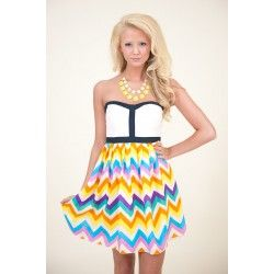 Calling All Colors Dress - $64.00