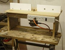 Simple router table tutorial router table plans pinterest diy router table plans with your choice of bases this basic table takes just 20 minutes to build and fence mounted accessories greentooth Choice Image