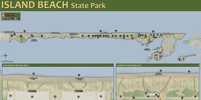 Island Beach State Park Map Park Map | Summer lovin' | Nj beaches, Hidden beach, Island beach