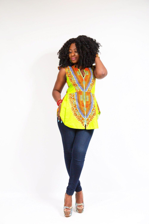 Dashki Fabric African Fashion Ankara Kitenge African: Dashiki Butterfly Shirt By TashiaSimilaoCollec On Etsy