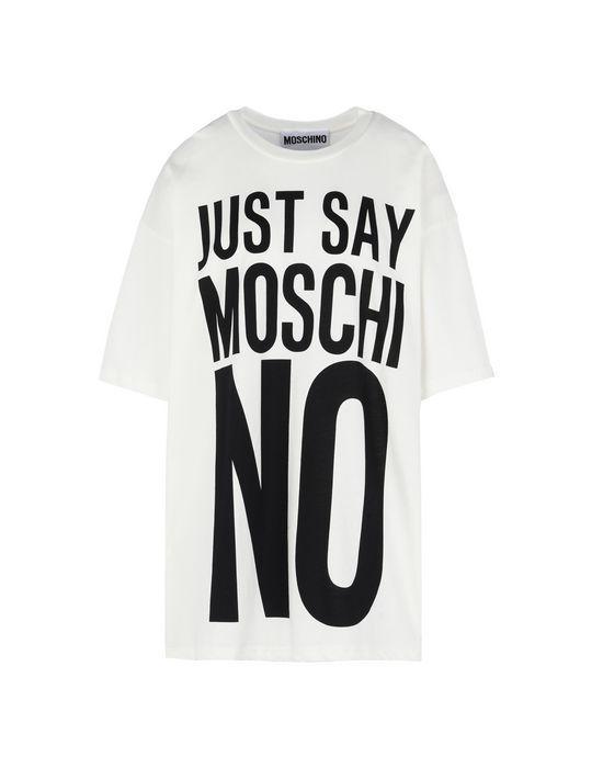 T Shirt Maniche Corte Moschino Donna  14b24ffae58