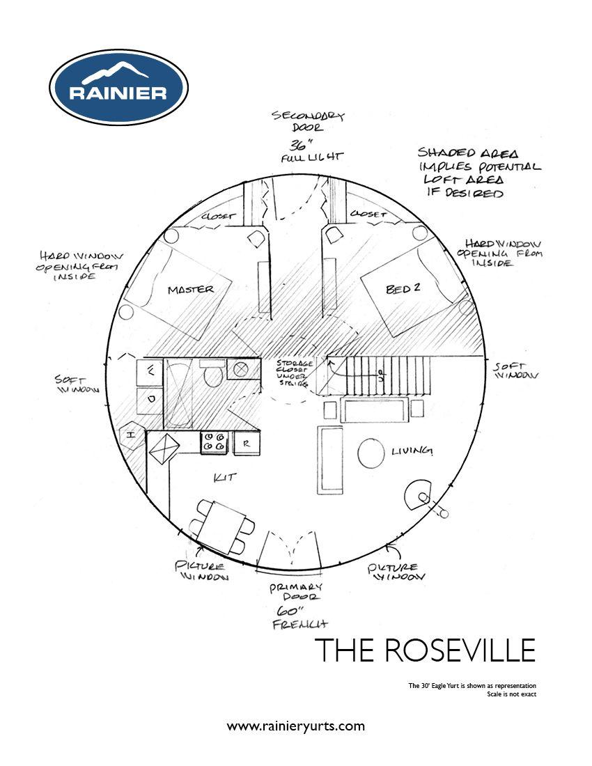 Yurt Floor Plans Rainier Yurts Bedroom Floor Plans Round House Plans Floor Plans