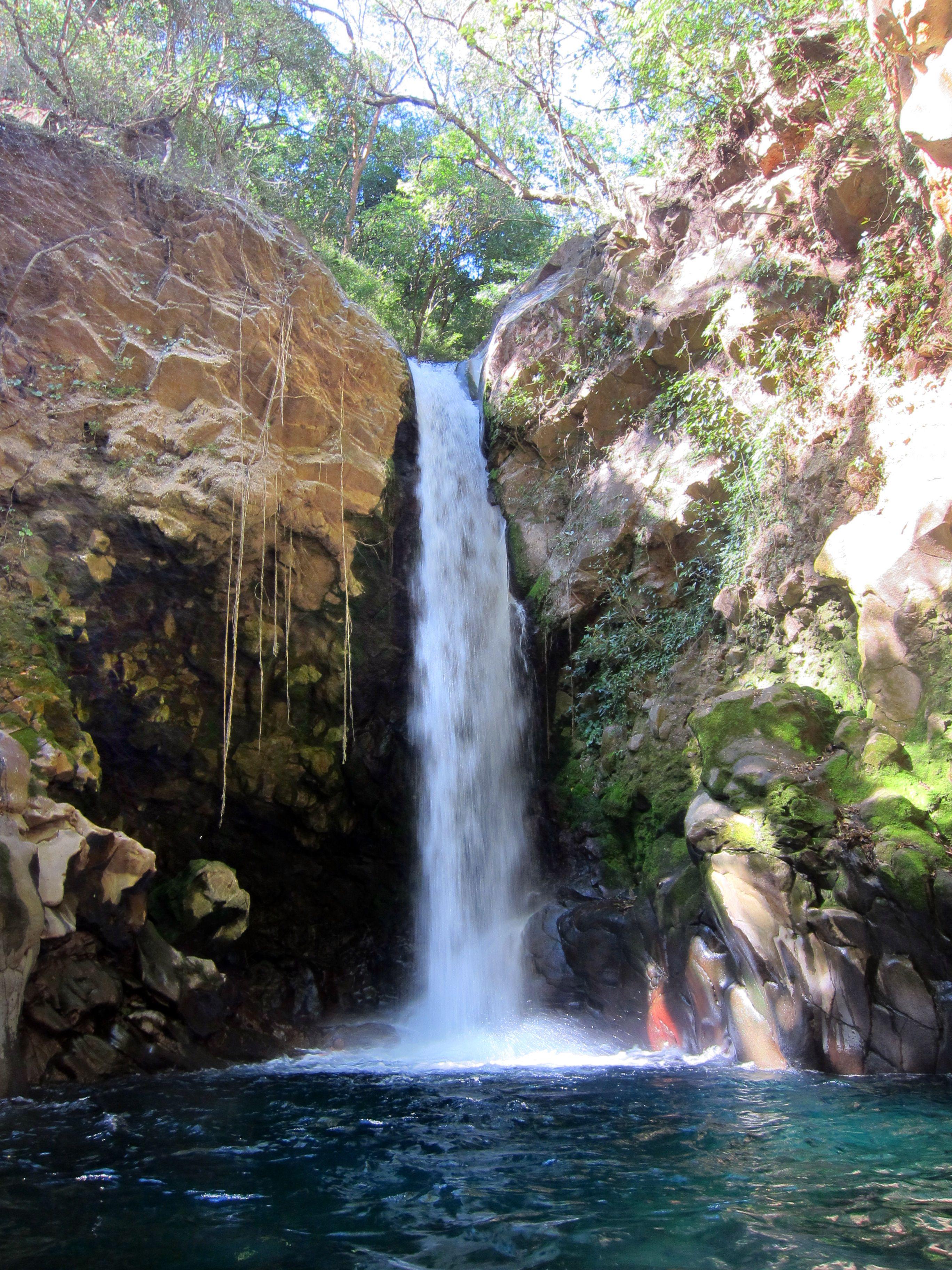 Oropendola Waterfall Costa Rica Swimming Here Was So
