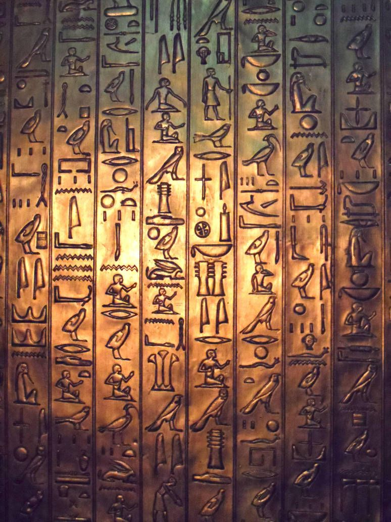 Ancient Hieroglyphs by IreneMarleenAyuma on DeviantArt #hieroglyphicstattoo
