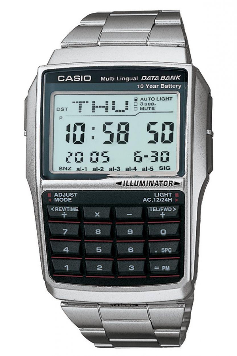 Casio Databank Dbc 32d 1adf Kol Saati Erkek Kol Saatleri Saatler Luks Saatler