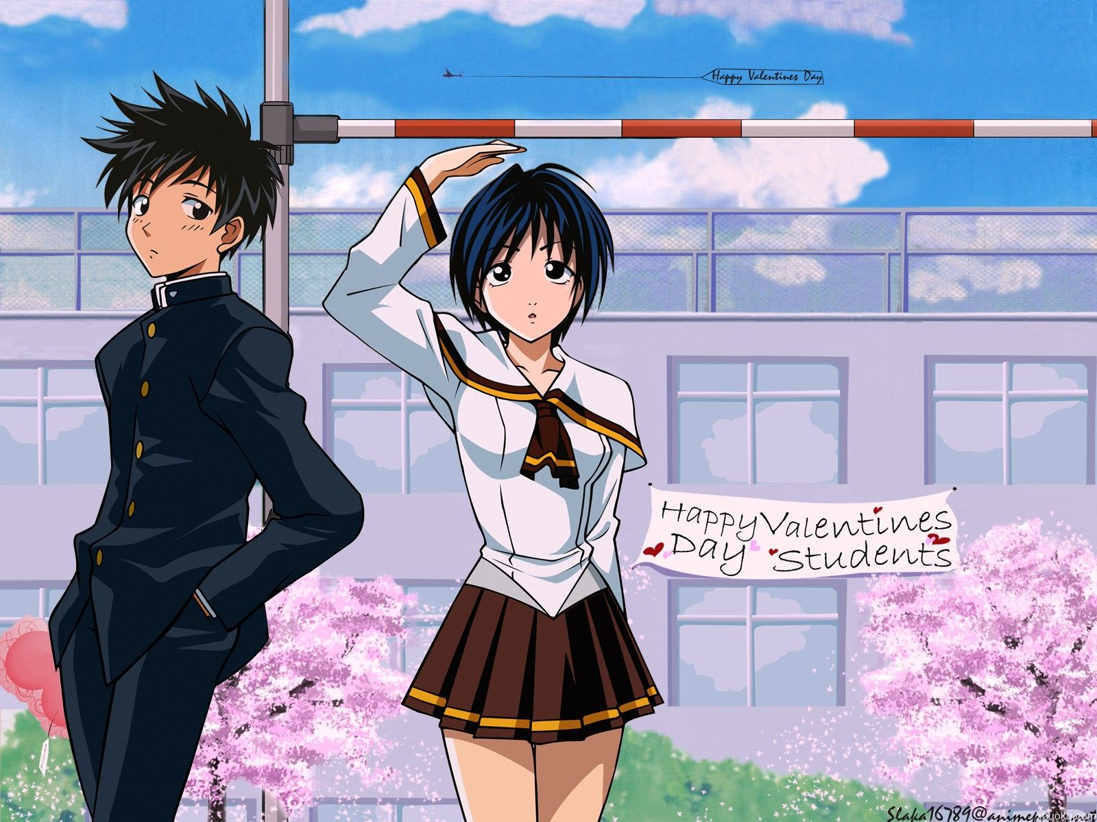 Suzuka is about a skilled high jumper Suzuka Asahina and a