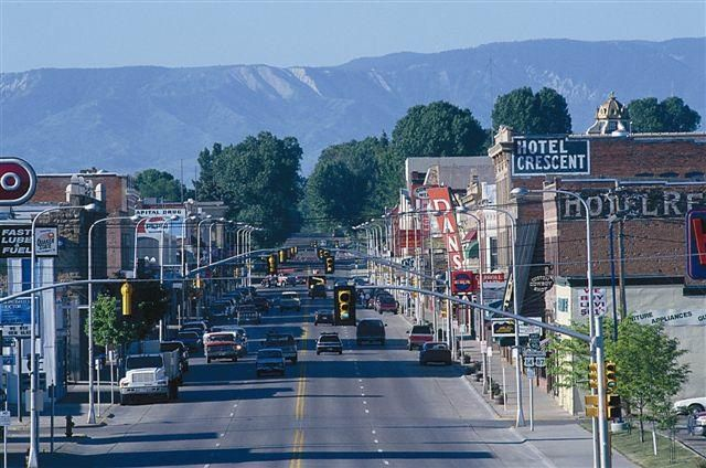 Sheridan downtown