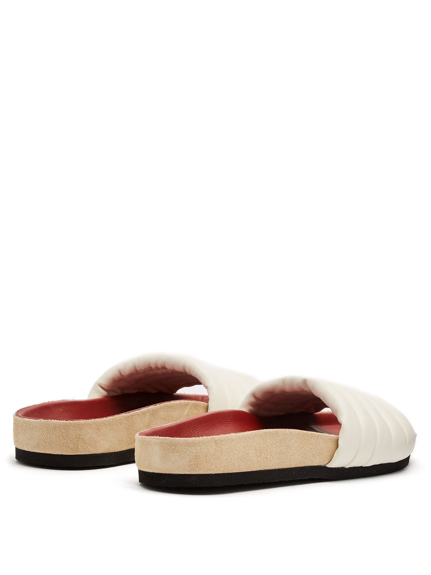d4e117b1cb8 Hellea quilted-leather slides | Isabel Marant | MATCHESFASHION.COM ...