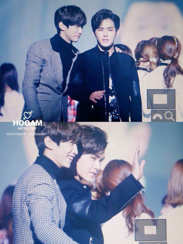 Hoya and Gongchan