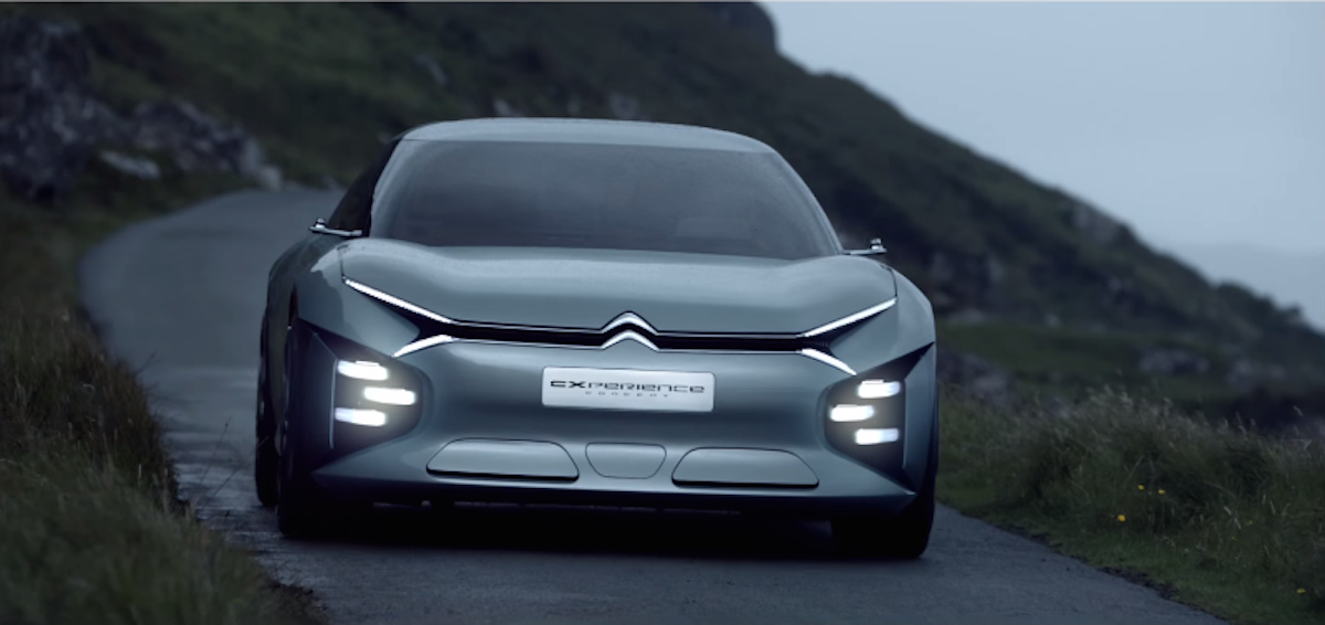 The French automaker Citroën just revealed a striking concept car loaded with awesome tech