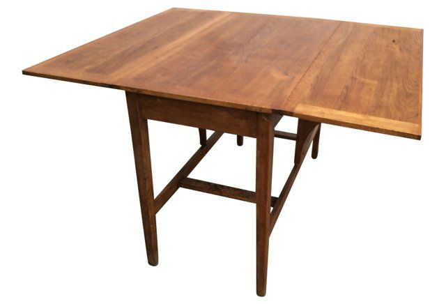 Drop-Leaf Farm Table