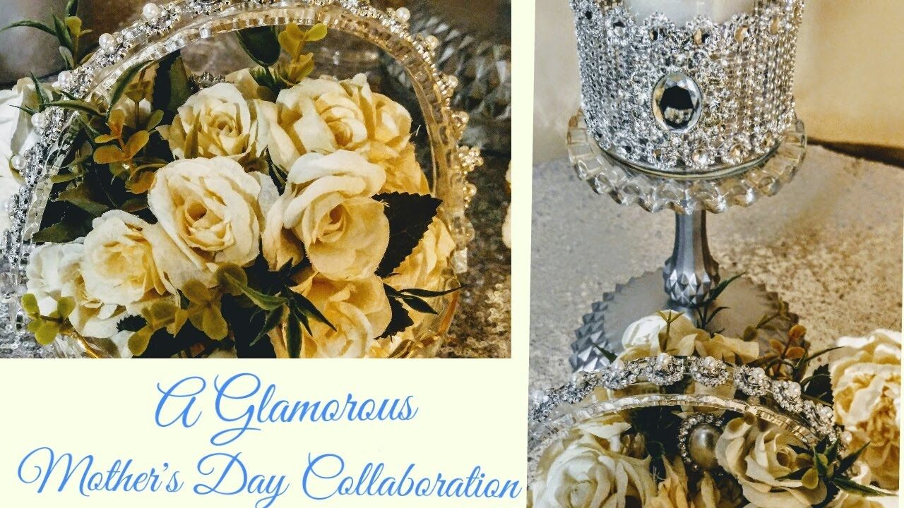 Diy glamorous dollar tree gifts mothers day collaboration