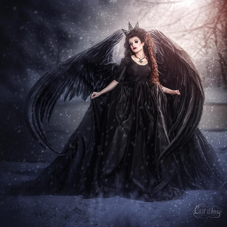 La Esmeralda Gothic Dark Art And Angel