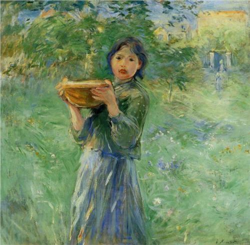 The Bowl of Milk - Berthe Morisot, 1890