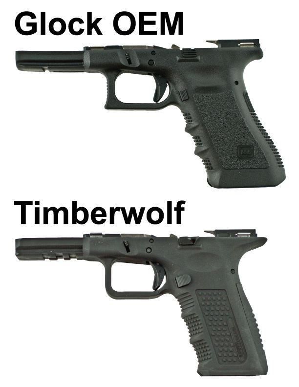 Lone Wolf Distributors - Timberwolf Frame vs Glock OEM Frame ...