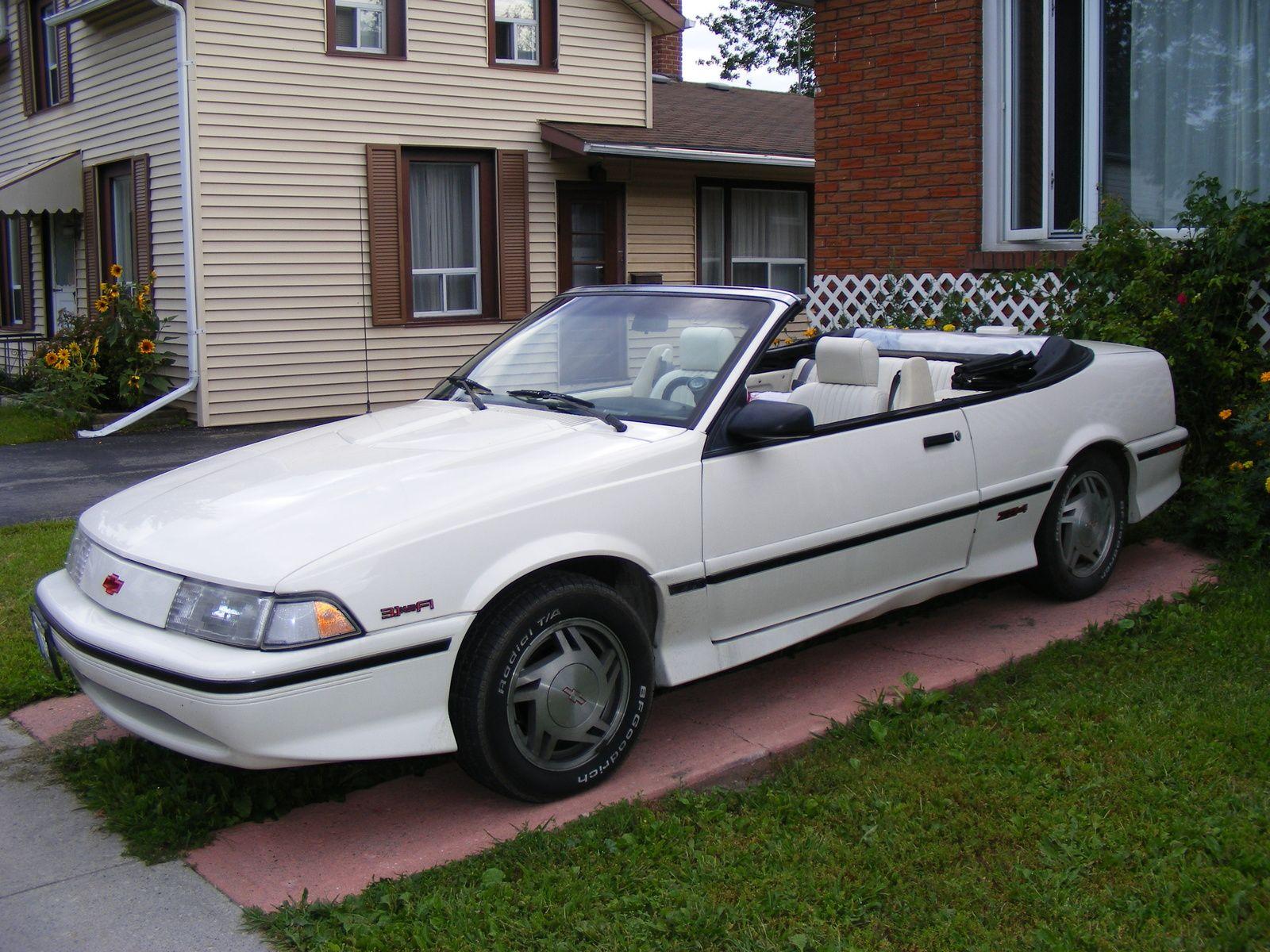 1992 chevrolet cavalier z24 convertible