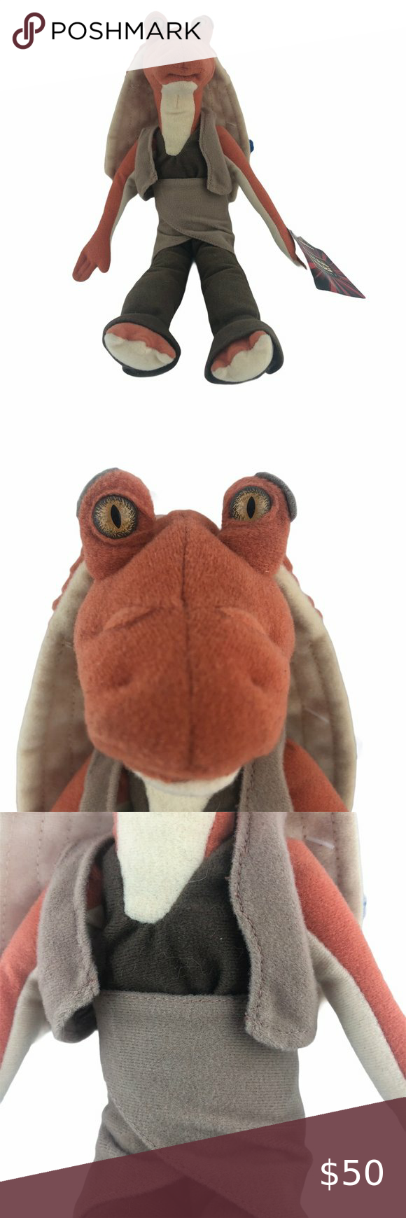 Jar Jar Binks Plush 12 Doll Star Wars Episode 1 Pusheen Cat Plush Angry Bird Plush Cat Plush