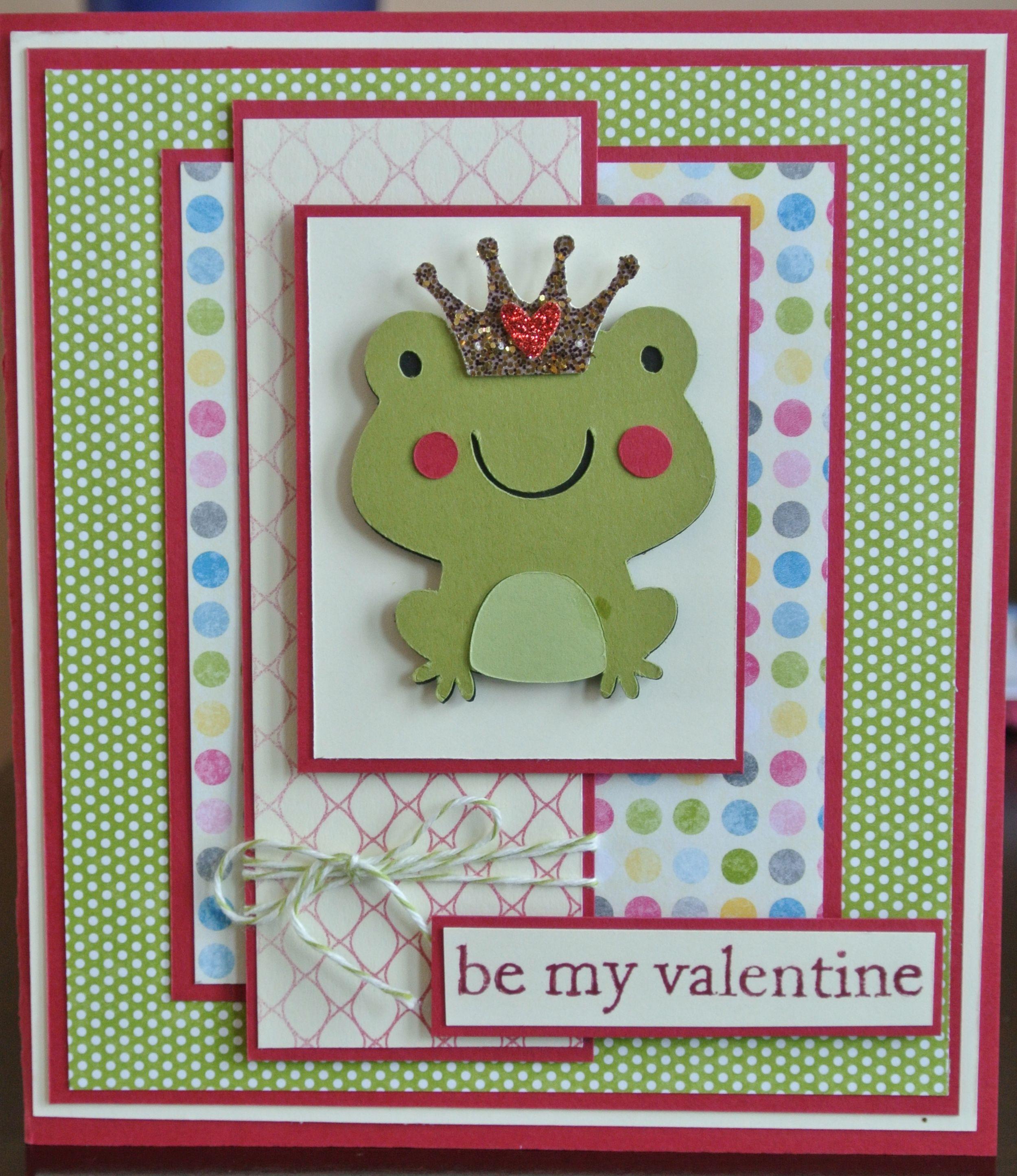 Cac 1 Frog Valentine Create A Critter 1 2 Create A