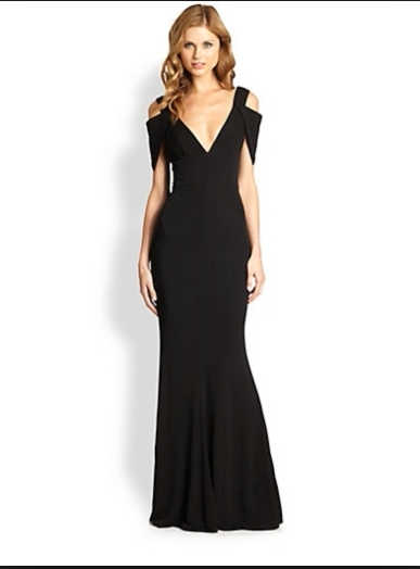 Perfect dress for a guest of a black tie wedding by abs for Black guest wedding dresses