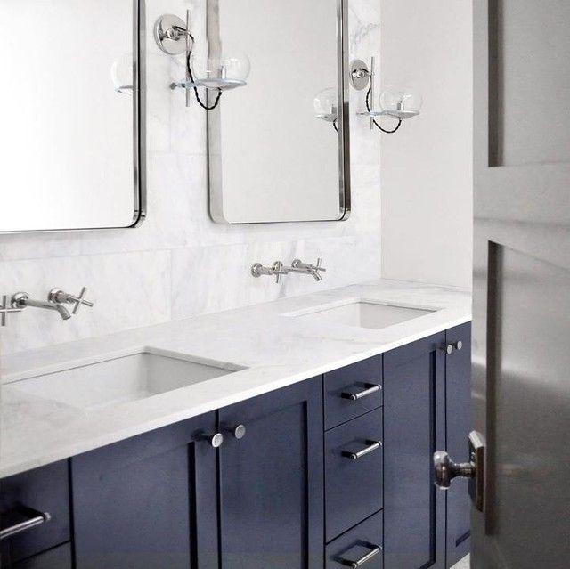 K T14413 3 Purist Wall Mount Sink Faucet Trim Cross Handles Kohler In 2021 Wall Mount Faucet Bathroom Sink Sink Faucets Wall Mounted Bathroom Sinks