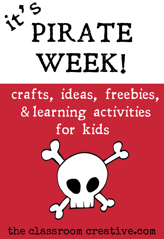 Pirate Craft Ideas For Kids Part - 19: Summer Fun 101-pirate Themed Week-crafts, Activities, Ideas, And Free
