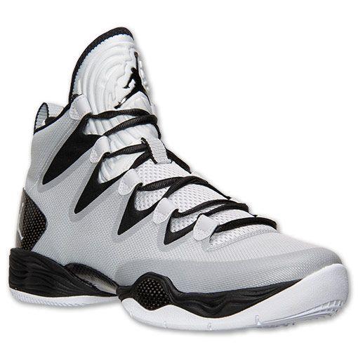 buy online 46740 922d1 Men s Air Jordan XX8 SE Basketball Shoes   Finish Line   Pure Platinum  White Black