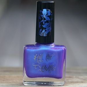 "Hit the Bottle ""Electric Indigo"" Stamping Polish"