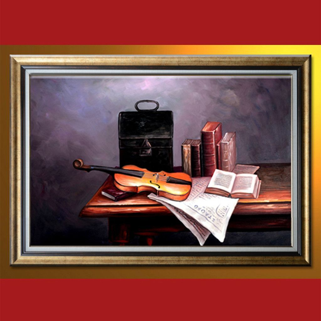 SL0408003F Oil Painting with frame 60 x 90 cm/24 x 36 in | Office ...
