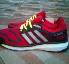 Adidas Energy Boots Run Merah Putih Sepatu Adidas Sepatu Adidas