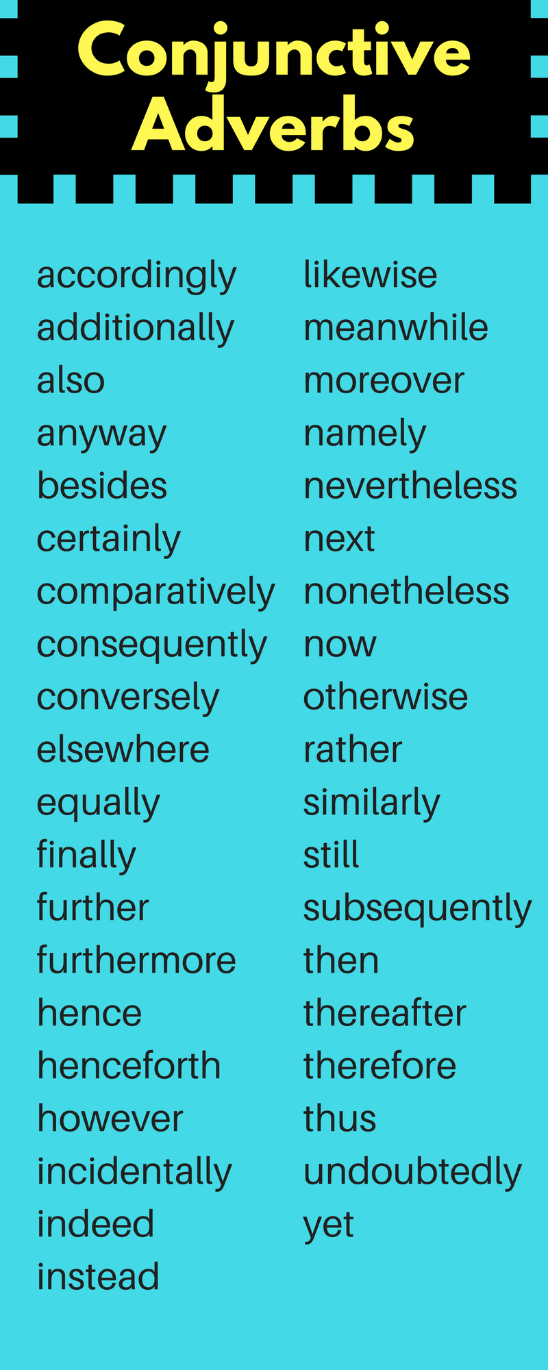 worksheet Conjunctive Adverbs Worksheet commas with transition words conjunctive adverb adverbadverbsgrammar
