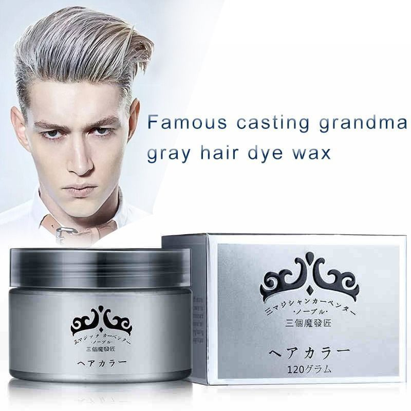 One Time Molding Paste Hair Dye Wax Harajuku Style Styling Hair