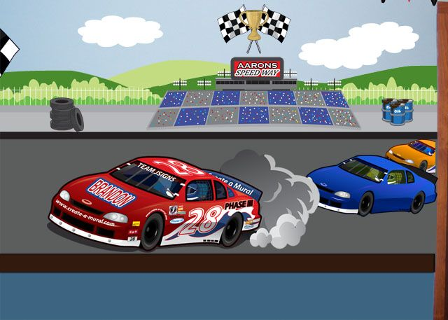 Race Track Murals Pinterest Race Car Room Kids Rooms And Room