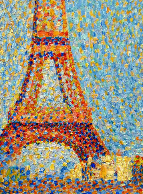 La Tour Eifel Seurat