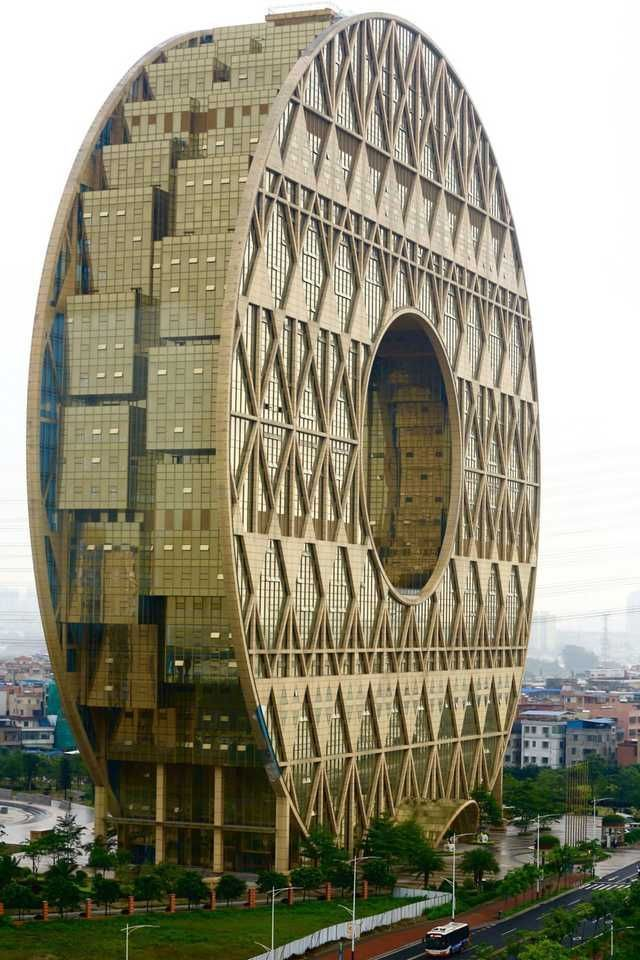 Office Building Macau China Imgur Architecture Moderne