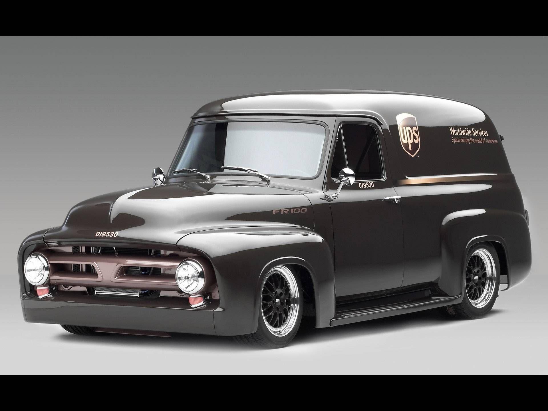 Ford pickup trucks | 1953 Ford FR100 Panel Truck Cammer UPS - Edition. & Ford pickup trucks | 1953 Ford FR100 Panel Truck Cammer UPS ... markmcfarlin.com