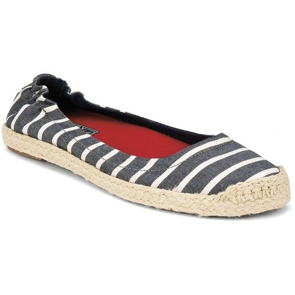 Sperry Top-Sider Women's Shoes, Marquis Espadrille Flats ❤ liked on Polyvore