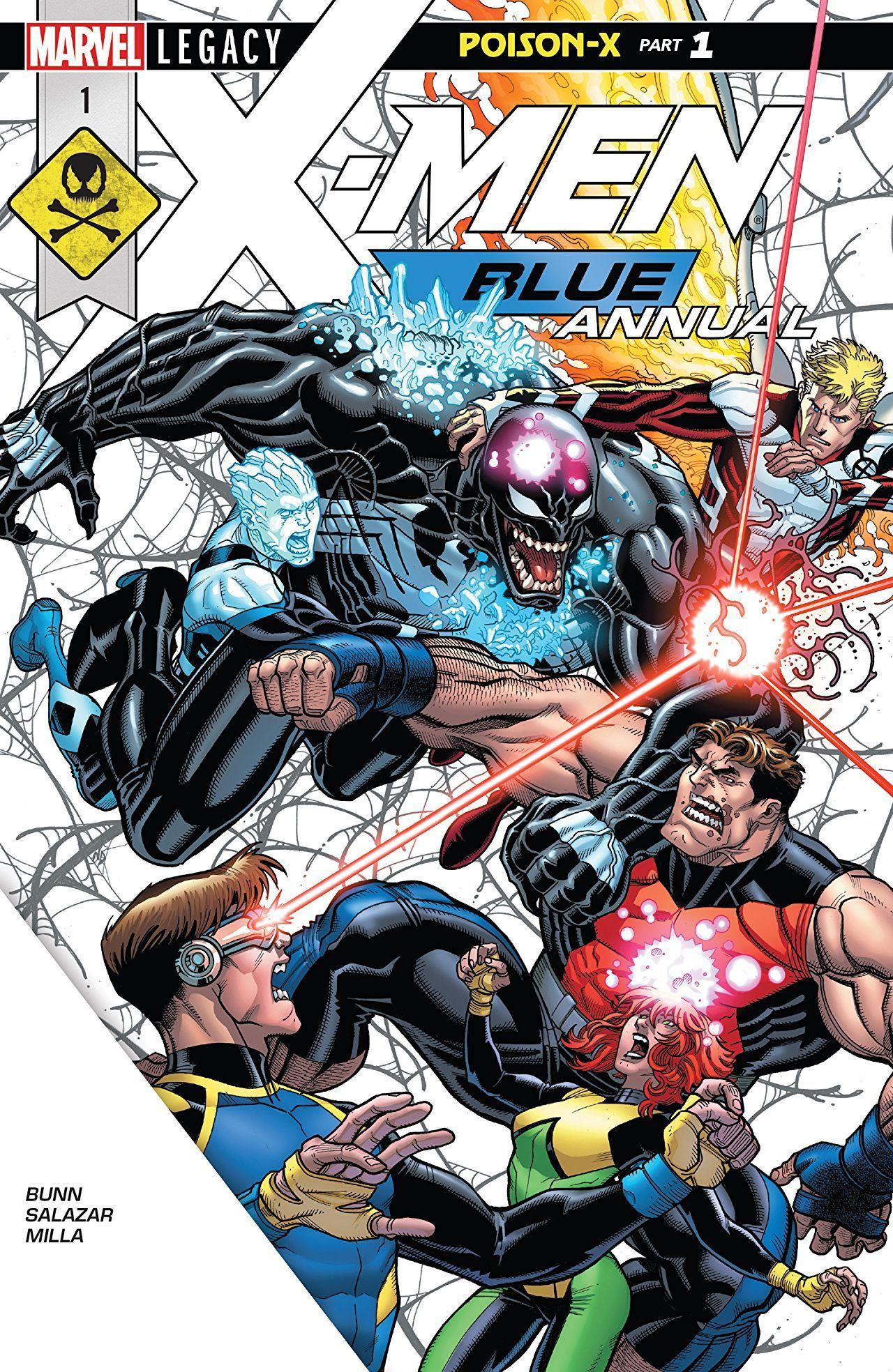X Men Blue 2017 2018 Annual 1 Comics By Comixology Comics X Men Comic Book Shop