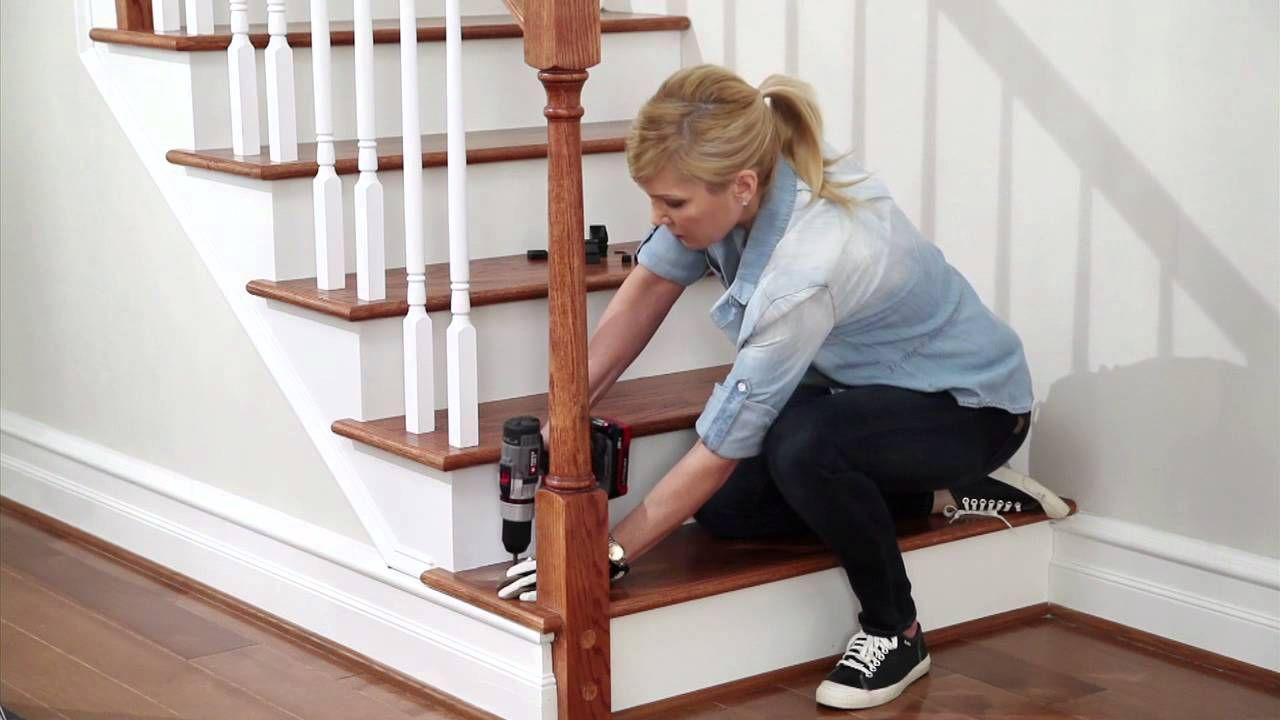 Best Srs Open Tread Installation Laminate Stairs Flooring 400 x 300