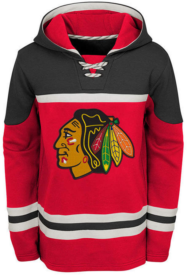 official photos 2642b 89211 Outerstuff Chicago Blackhawks Asset Hoodie, Big Boys (8-20 ...