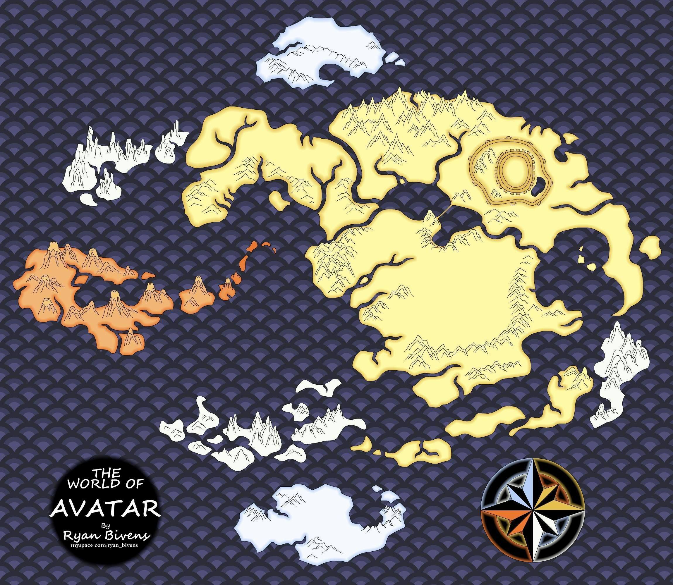 Avatar map number three! | Maps of Fantasy Worlds | Pinterest ...