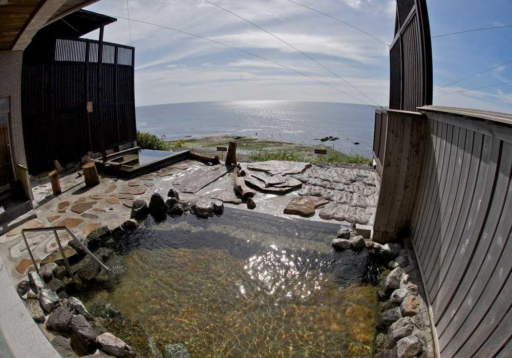温泉のご案内 白老 虎杖浜 心のリゾート 海の別邸 ふる川 絶景 旅行 温泉